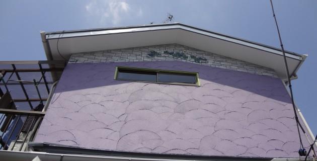 昭島市 S様邸 塗装工事・モルタル造形
