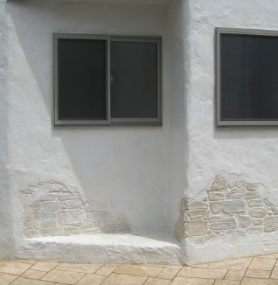群馬県高崎市浜尻町 住宅モルタル造形事例