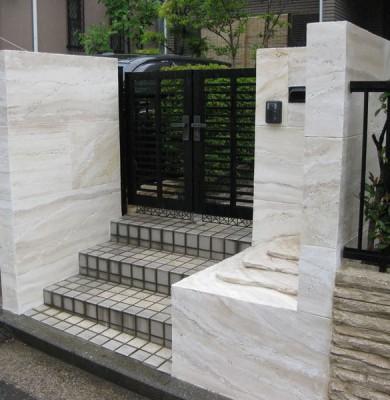 横浜市港北区 O様邸モルタル造形事例