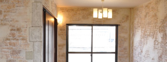 高崎市アパートのモルタル造形施行事例