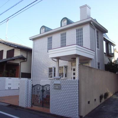 東京都国立市 K様邸塗装及びタイルクリーニング