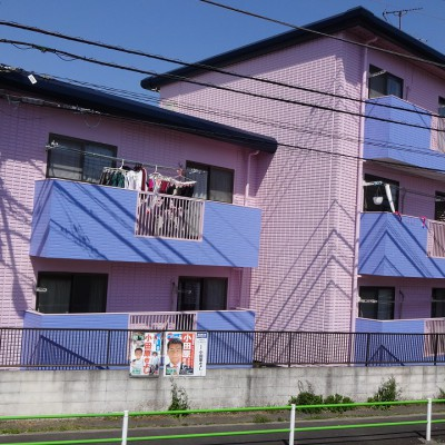 2015-03_昭島市_アパート_外壁屋根塗装工事