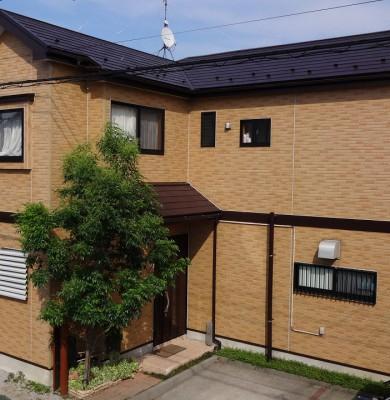 2015-05_日野市_I様邸_外壁屋根塗装工事_(サイディング クリヤー塗装)