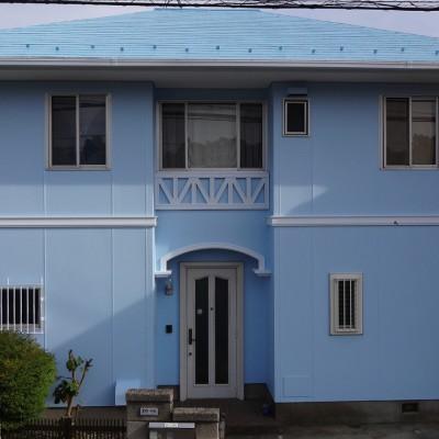 2015-05_所沢市_T様邸_外壁屋根塗装工事
